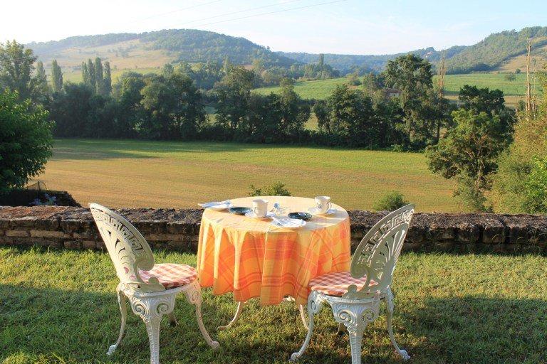 El desayuno más mágico del mundo - Dónde alojarse en Cordes-sur-Ciel