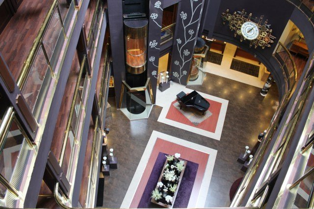 Recepción del Hotel Andorra Plaza