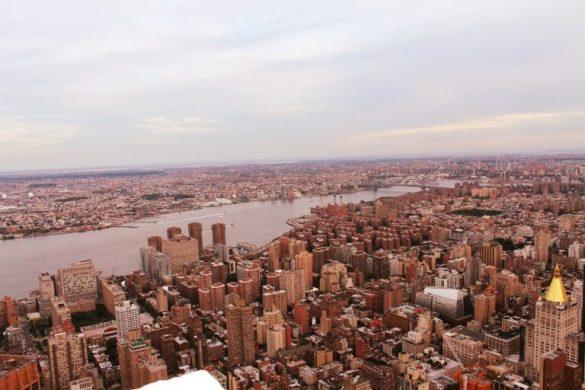 Vistas desde el Empire State de Nueva York