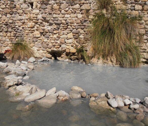 Aguas termales en Siena