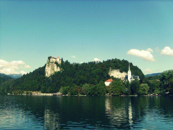 El Lago Bled en Eslovenia