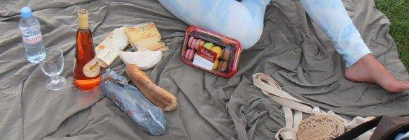 Hacer un picnic en los Campos de Marte de París