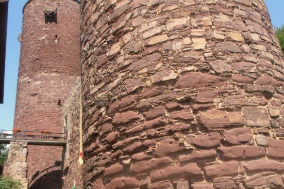 Torre de Rapunzel en Alemania con la trenza