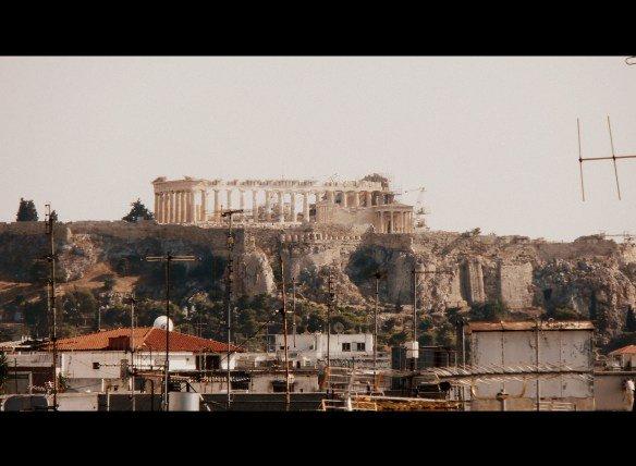 Vistas al Partenón desde el Hotel Melià