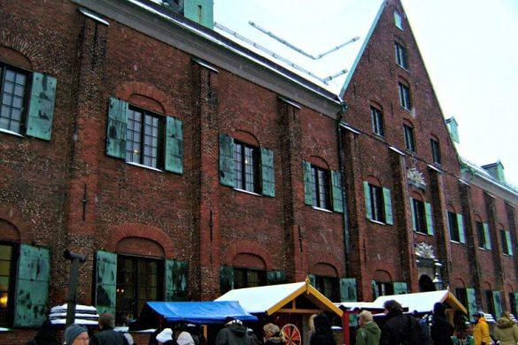 Mercado de navidad de Khronuset en Gotemburgo