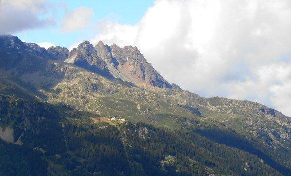Montañas del Mont Blanc
