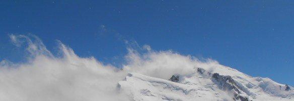 Vistas desde el Mont Blanc