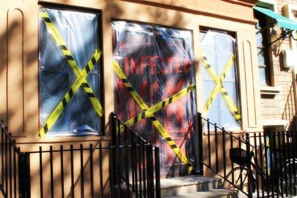 Zona de zombies en Warner
