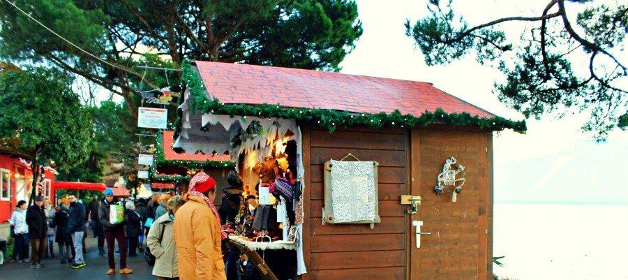 Mercado de Navidad de Montreux en Suiza