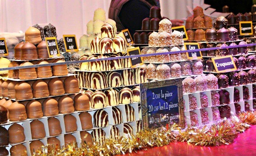 Têtes de choco, el dulce típico de Suiza