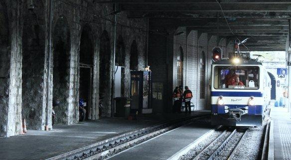 Tren a Rochers-de-Naye desde Montreux