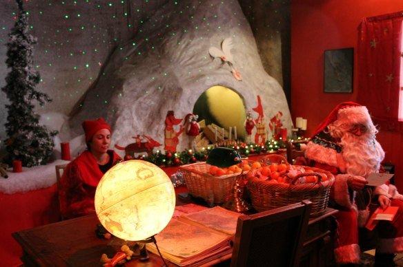 Visitar a Papá Noel en Montreux