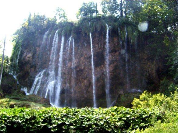 Cascadas en el Parque Natural de Croacia