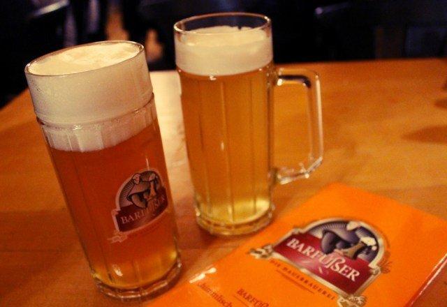 Cerveza alemana en Núremberg
