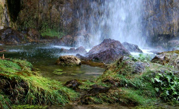 La fuerza del agua en Croacia