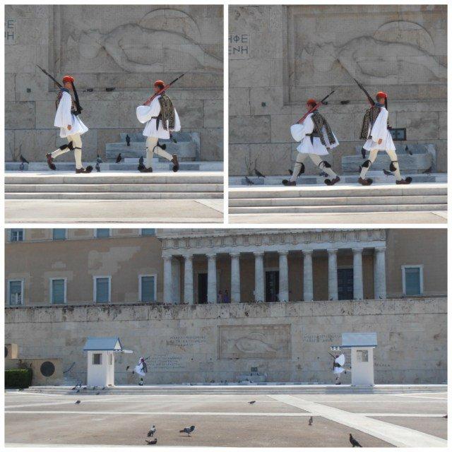 Cambio de Guardia de Atenas