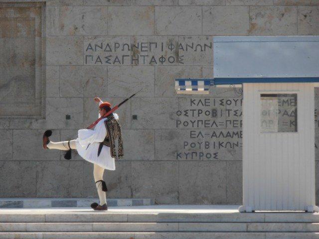 Cambio de Guardia en Atenas - Viajar a Grecia