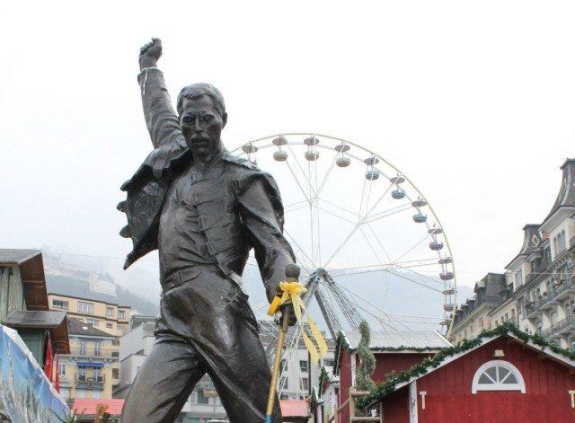 Freddie Mercury, un enamorado de Montreux