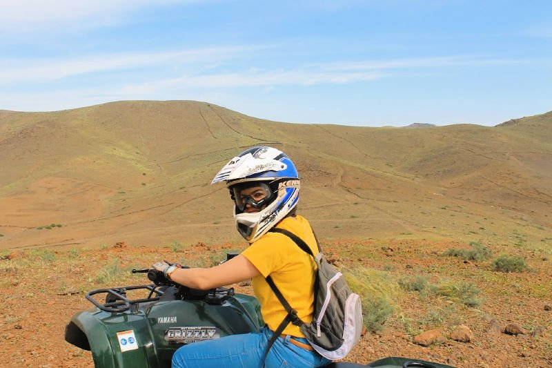 Excursión en quad al desierto