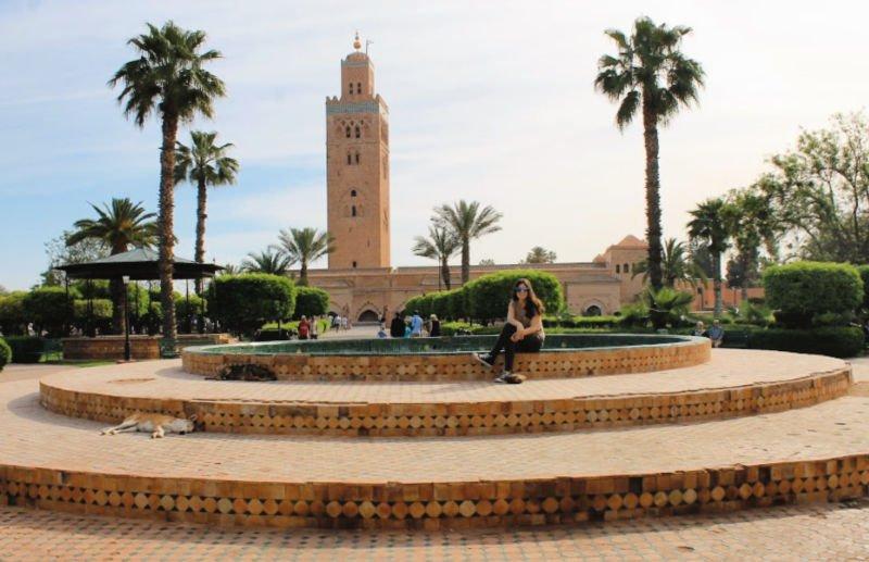La Koutubia, una de las cosas principales que ver en Marrakech
