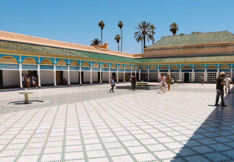 Palacio de la Bahia de Marrakech