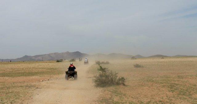 Quad por el desierto de Marrakech