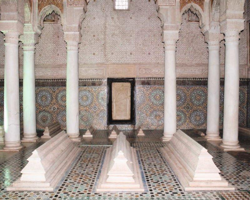 Visitar las Tumbas Saadíes de Marrakech