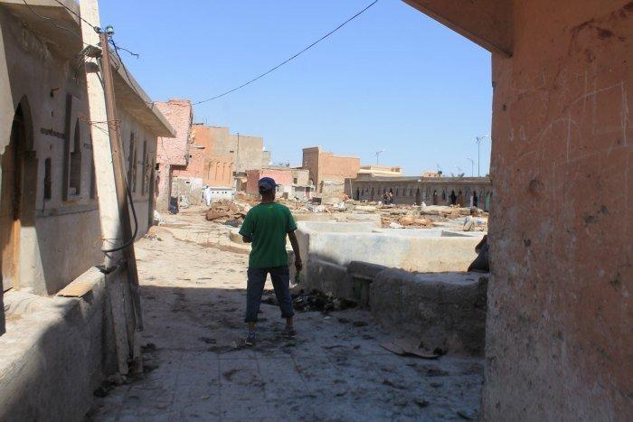 Barrio de las pieles de Marrakech