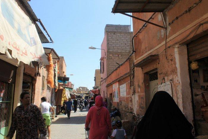Calles de la Marruecos más auténtica