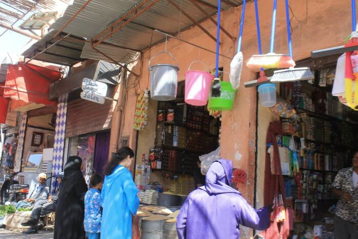 Tiendas en Marrakech