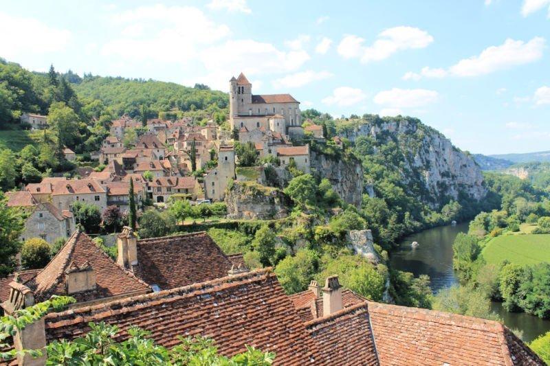 Saint Cirque Lapopie, uno de los pueblos más bonitos de Francia