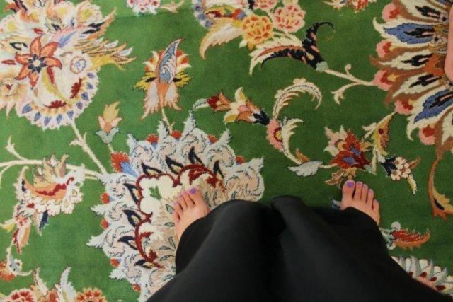 La alfombra más grande del mundo