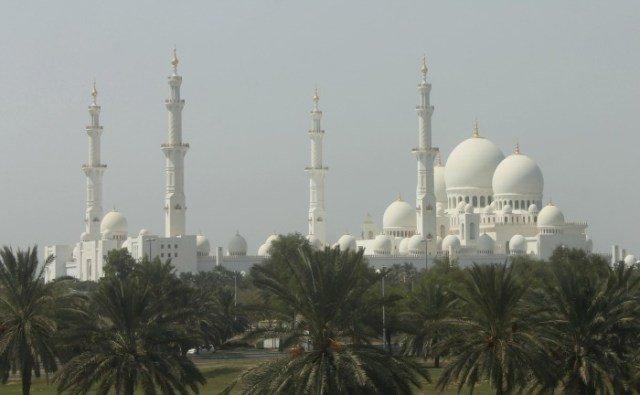 La Mezquita de Abu Dhabi