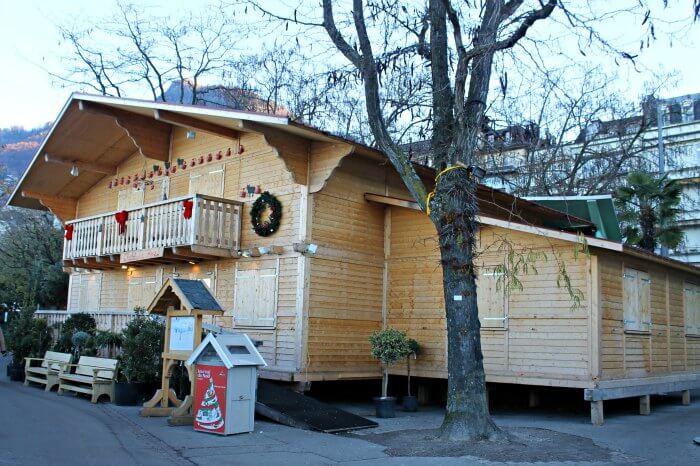 Cabaña La Poya en Montreux de día