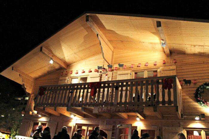 Dónde comer en Montreux en Navidad