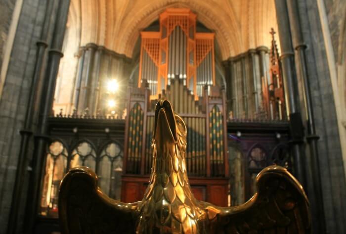 Christ Church Dublin y su órgano