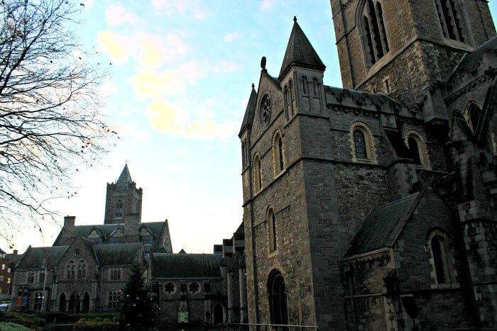 Jardín de la Christ Church de Dublín