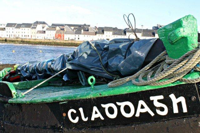 Barrio de Claddagh en Galway