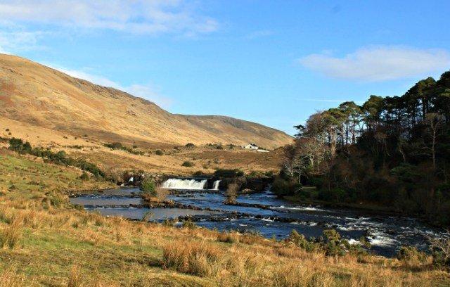 Cascadas de Aasleagh en Irlanda
