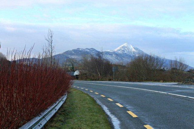 La montaña sagrada de Irlanda en el oeste