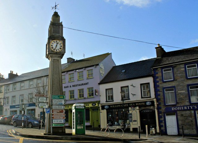 Reloj de Westport - Vivir en Irlanda
