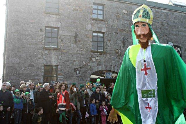 Disfraz de San Patricio en Irlanda