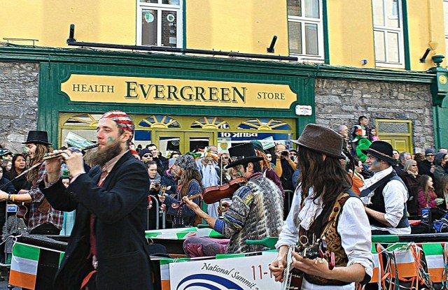 Música celta en San Patricio