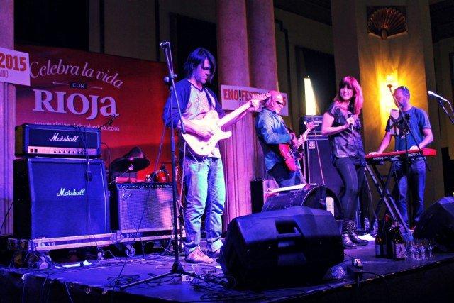 Concierto en el Enofestival de Madrid