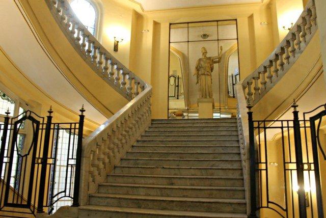 Escalinatas del Círculo de Bellas Artes de Madrid