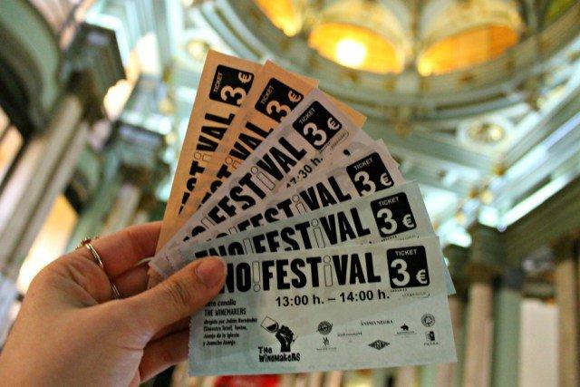 Tickets para las catas de vino