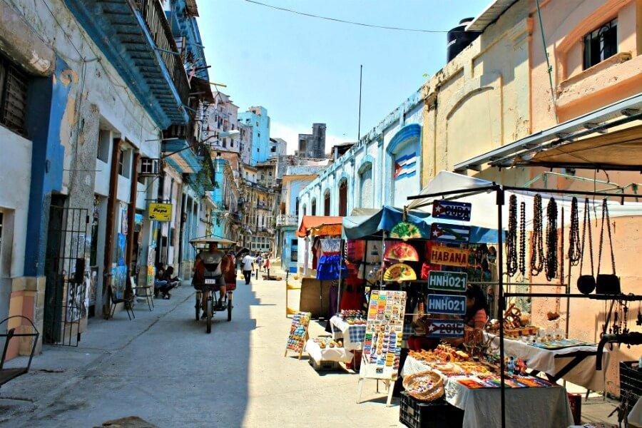 Calles de La Habana Vieja - Qué ver en La Habana