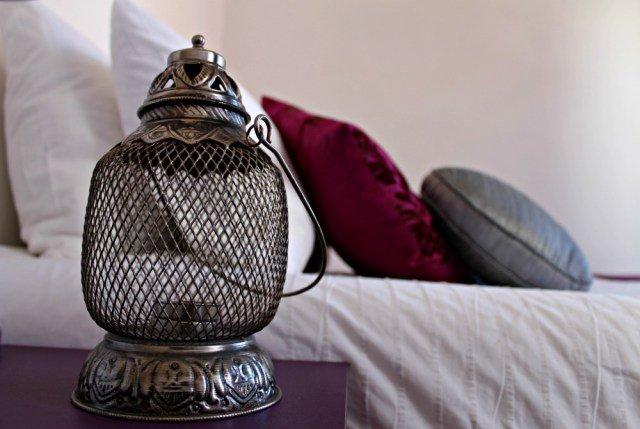 Dormitorio de nuestro apartamento en Lisboa
