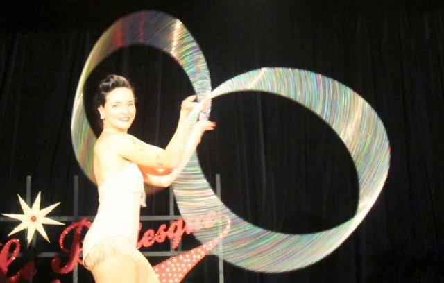 Bailarina de cabaret en París