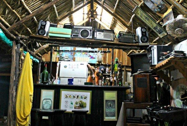 Barra de cócteles de la Casa Legendario de Cuba